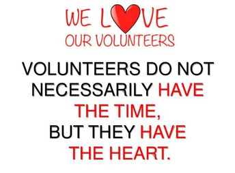 Get Involved - Volunteer!
