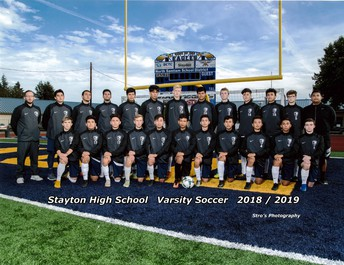 Stayton High School Boys Soccer are off to the playoffs!
