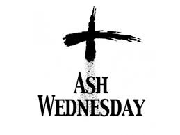 Ash Wednesday, March 6th
