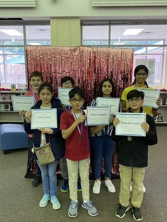 Congratulations to our FCS Tech Fair Winners! They are presenting their projects at state on March 14th.