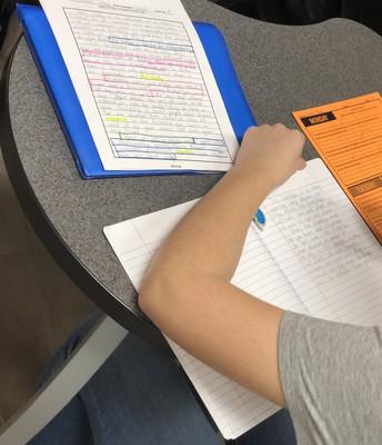 English I Essay Reflection
