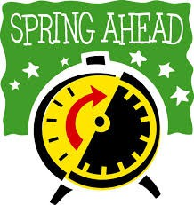 Remember to move your clocks forward on March 11th 2:00am