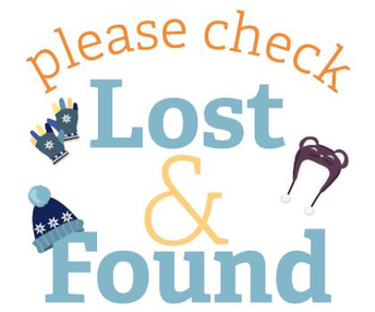 Lost and Found to be donated Friday!