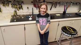 Lilli Creating a 3D Model!