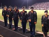 JROTC ready for homecoming!