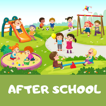 After school central playground use