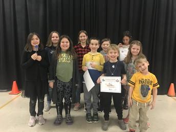 Citizenship Award Winners