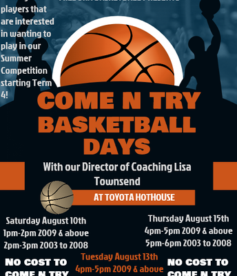 Basketball Come and Try