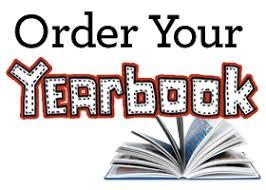 Yearbook Order Deadline - Sunday, February 7