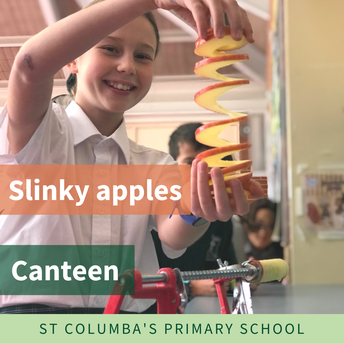 Slinky apple machine a big hit!