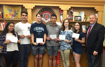 Commended Students