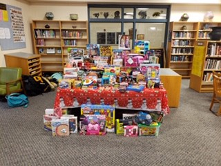 Look What Our GHS Collected...THANK YOU!