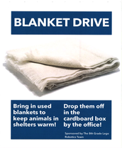 Robotics Club Blanket Drive