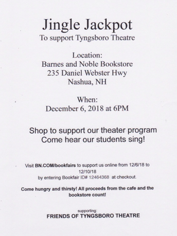 Help Support Tyngsboro Theater