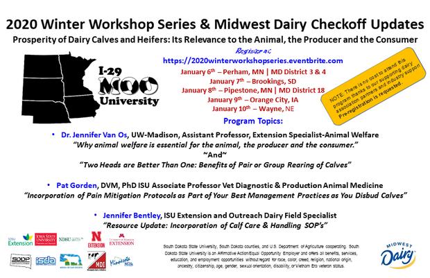 2020 Winter workshop postcard