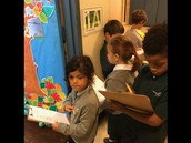 First Grade Visit