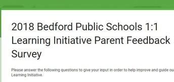 Parent Survey for Students using Chromebooks