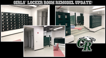 New Girls' Locker Room