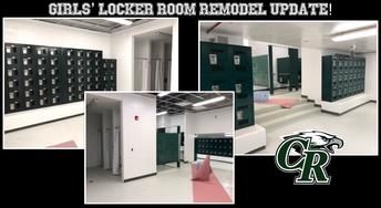New Girls' Locker Room