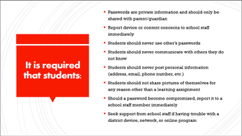 Requirements for Students