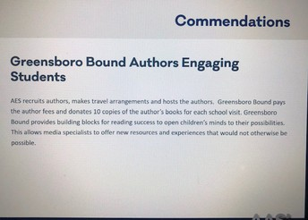 Greensboro Bound Authors Engaging Students