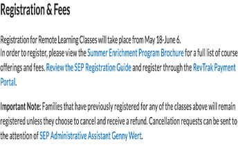 Summer Learning 2020