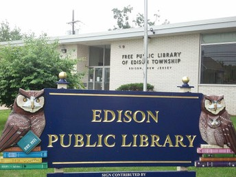 Edison Public Library Re-Opening