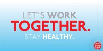 Community Health Reminders...