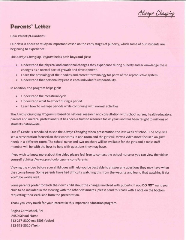 LV Intermediate Parent Newsletter | Smore Newsletters for