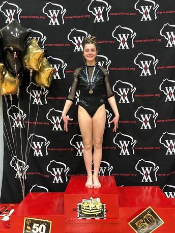 Congrats to Emi for an amazing finish to a tremendous gymnastics season!
