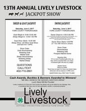 2017 Lively Livestock 4-H Sheep/Goat/Swine Jackpot Show