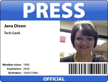 Make a Press Badge