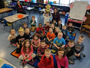 1st Grade:  Mrs. Shampine and Mrs. Lewis' Class