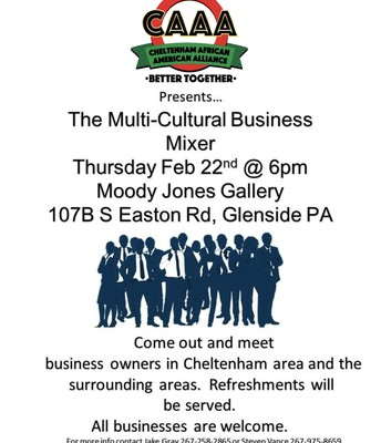 CAAA-Sponsored Multicultural Business Mixer
