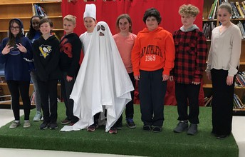 """""""A Ghost at Gifford School"""" was spook-tacular!"""