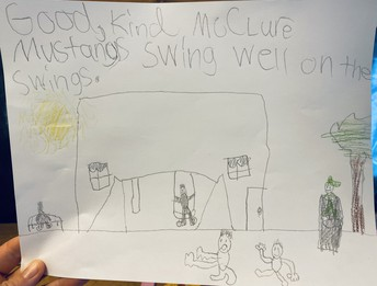 A great example from Mrs. Vestad's class