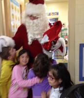 Santa Got a Lot of Hugs
