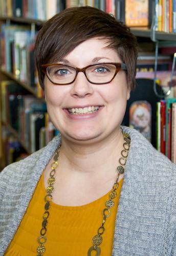 Kudos to Meghan Salsbury, YALSA Award Winner