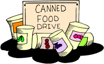 CANNED FOOD DRIVE CONTEST!