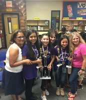 BATTLE OF THE BOOKS DISTRICT CHAMPS!!!