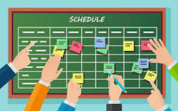 """Master Schedule """"SubCommittee"""" 1/27 @ 3:30 Library"""