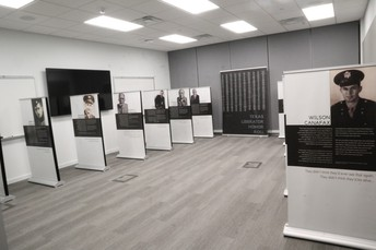 """Special Mention: Exhibit curated by the Texas Holocaust and Genocide Comission """"The Texas Liberator: Witness to the Holocaust"""""""