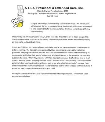 ATLC Preschool & Extended Care