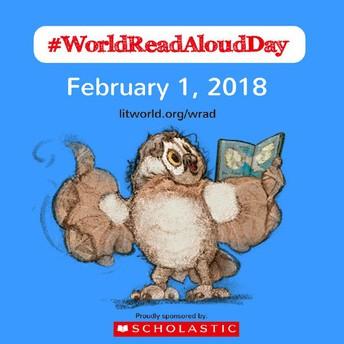 World Read Aloud Week 2018