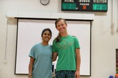 Amulya and Rowan are National Merit Commended