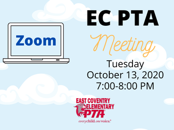 Join Us for Our Next Meeting on Tuesday October 13, 2020 from 7-8pm.