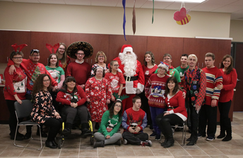 Life Skills students perform at holiday luncheon