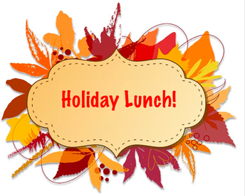 Holiday Lunch November 15th