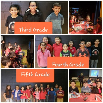 Third-Fifth grade students
