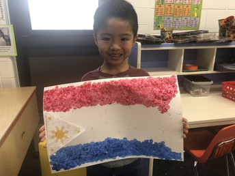 Students Create Flags!
